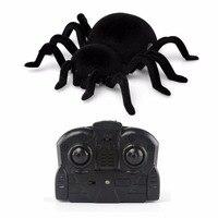 Hồng ngoại RC Nhện Leo Tường Quà Tặng Kid Toy Điều Khiển Từ Xa Tarantula Mô Phỏng Furry Điện Tử Spider Toy Halloween Bất Ng
