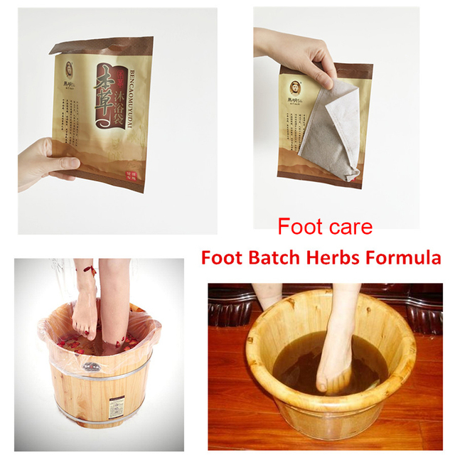 Ma ming ren Foot bath Herbs formula Detox Foot Bath foot massage foot care traditional chinese medicine