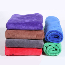 10pcs/lot 30x30cm Thick Car Wash Soft Microfiber Cloth Car Detailing Care Hand Towel Clothes Glass Window Cleaning Products