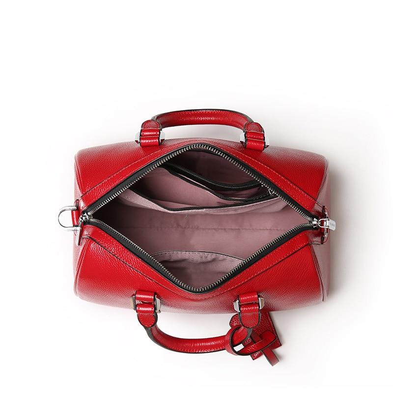 LUODUN 2018 Läder handväskor sommar liten väska multifunktionell - Handväskor - Foto 3