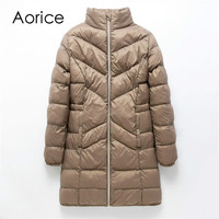 Women fashion parka long jacket Obese lady overweight people coats spring winter warm outwear large plus size 5XL 6xl 7xl QY901