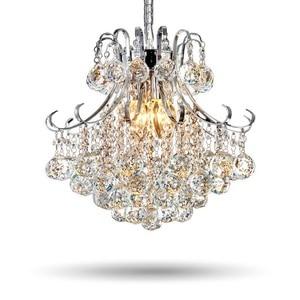 Fashion Crystal Pendant Lights Hall Hanglamp luminaire suspendu lustre Modern Light Fixtures lustre de cristal Drop