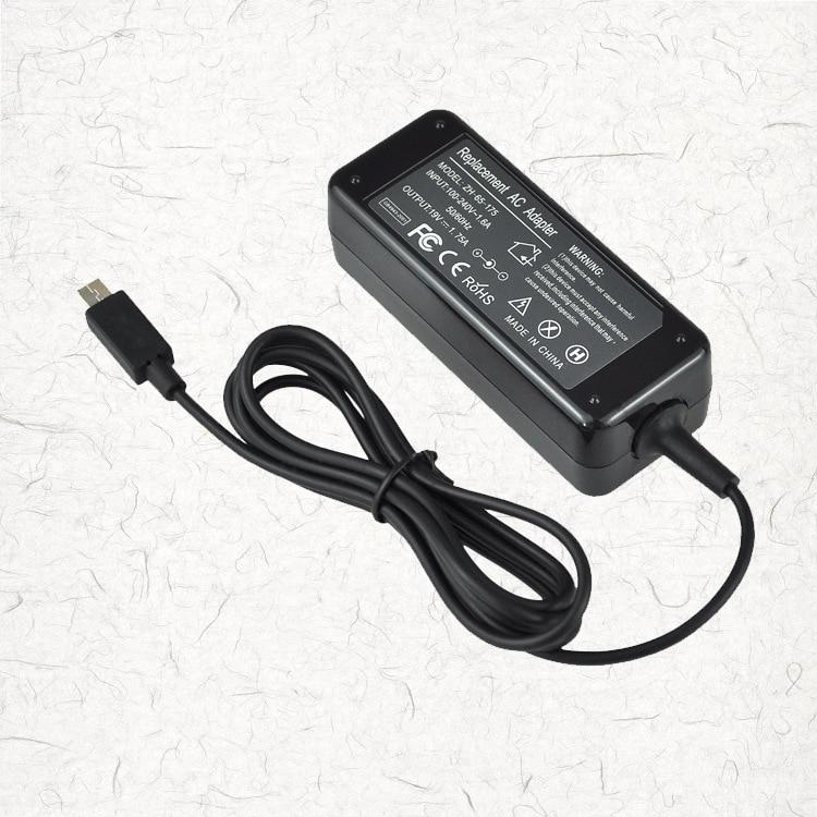 Asus Eeebook X205T X205TA üçün 19V 1.75A 33W AC Noutbuk Güc Adapter Adapteri