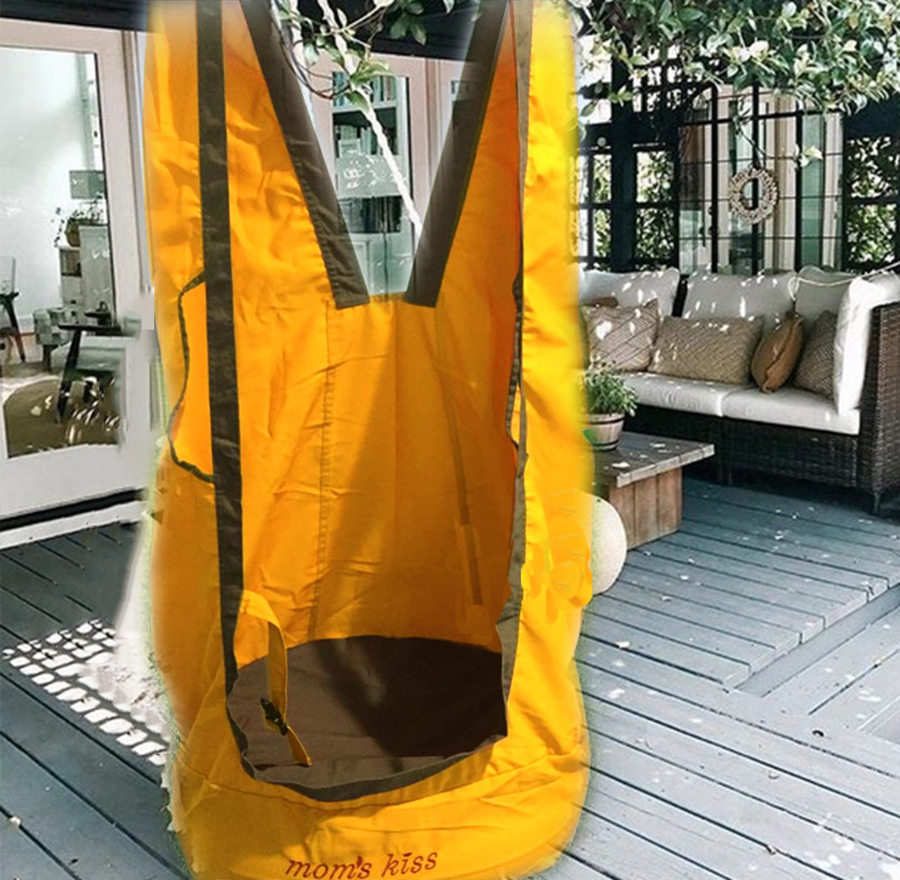 2018 Creative Outdoor Children Hammock Garden Furniture Swing Chair Indoor Hanging Seat Child Swing Seat Patio Portable