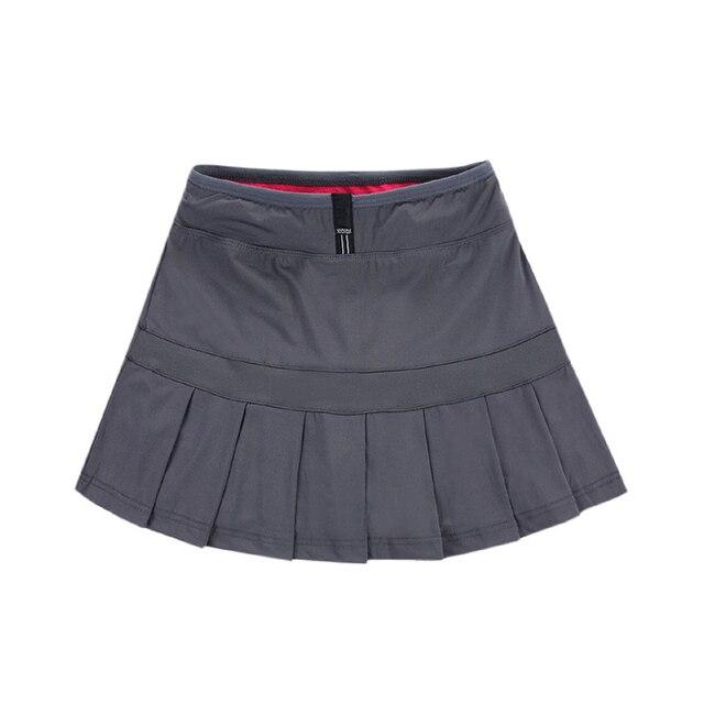 5c62147bfc Sport Women's Skirts Tennis Skorts Badminton Skirts Running Boufancy Short  Feminino Culottes Pleated Tennis Skirt for