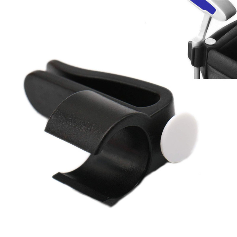 Golf Bag Clip On Putter Putting Organizer Club Durable Clamp Holder Golf Accessories