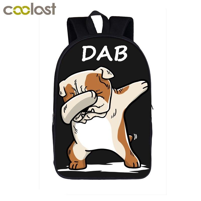 Cartoon Shiba Inu Dog Multifunctional Bundle Backpack Shoulder Bag For Men And Women