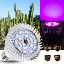 Full Spectrum LED Grow Light Aluminum E27 Indoor Plant Light 220V E14 Grow LED For Plants Seeds Flower Hydroponics Bulbs 5730SMD