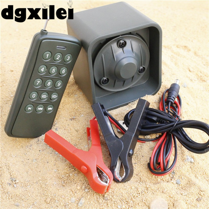 50W 100m Remote Control Electronics Hunting Mp3 Bird Caller Sounds Player Hunting Decoy &Timer On/Off 210 sounds 50w sounds birds caller hunting decoy mp3 player bird hunting trap mp3 with 100 200m remote control