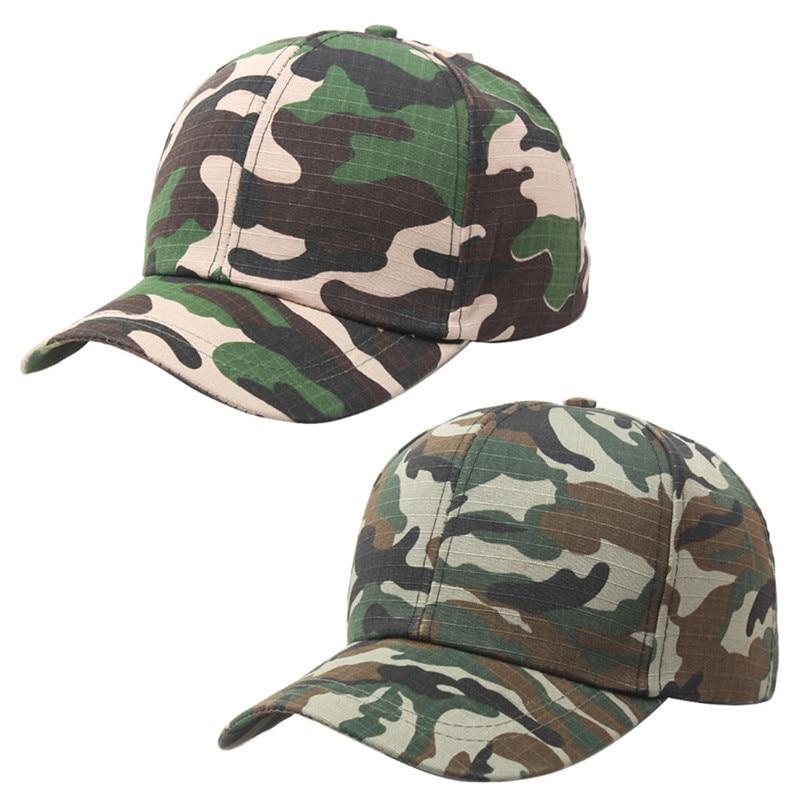 Hip Hop Hats Spring Summer Men Women Baseball Cap Camouflage Snapback Bone High-Grade Cotton Sunscreen Caps