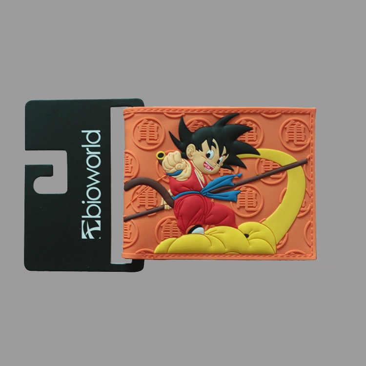HUIMENG Dragon Ball z portfel Goku krótka torebka młodzi mężczyźni kobiety studenci Anime portfel mody