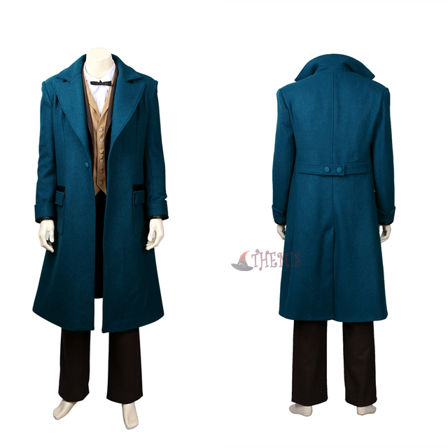 New Fantastic Beasts and Where to Find  Them Newt  Scamander Cosplay Costumes high quality custom made