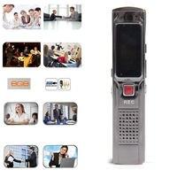 USB MEMORY STICK Portable Wiederaufladbare 8 GB Stahl Stereoaufnahme Mini Digital Audio Stift Voice Recorder Mp3-player