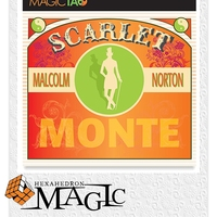 2017 New Scarlet Monte (Gimmick and Online Instructions) by Malcolm Norton close-up card magic trick / wholesale