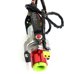 Image 4 - Электрический rc стартер двигателя для 15cc   80cc RC модели, бензиновый нитро двигатель, Rc самолет вертолет