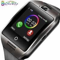 LIGE Inteligente Relógios Dos Homens Do Esporte da Aptidão Pedômetro Relógio De Pulso mulheres relógio de Música Do Bluetooth Apoio TF cartão SIM Relógio inteligente