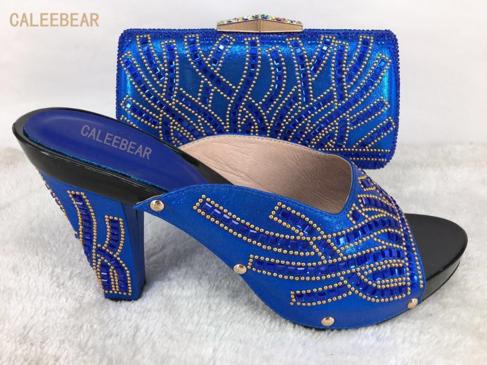Ensemble Pour Bleu Chaussures Diamants Italien Mariage Africaines Femmes Partie Picture Sacs Picture Couleur As as Ensembles De Les Assortis Africaine Décoré Et Avec Sac 8rq8UTf