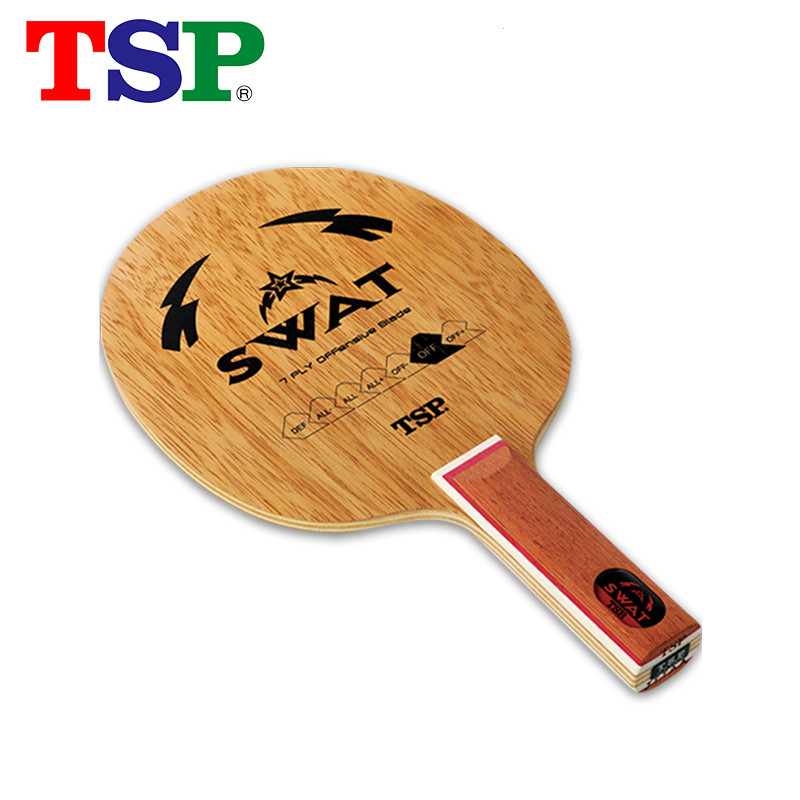 Original Tsp Swat Table Tennis Blade Racquet Sports Table Tennis Rackets Indoor Sports Carbon Blade