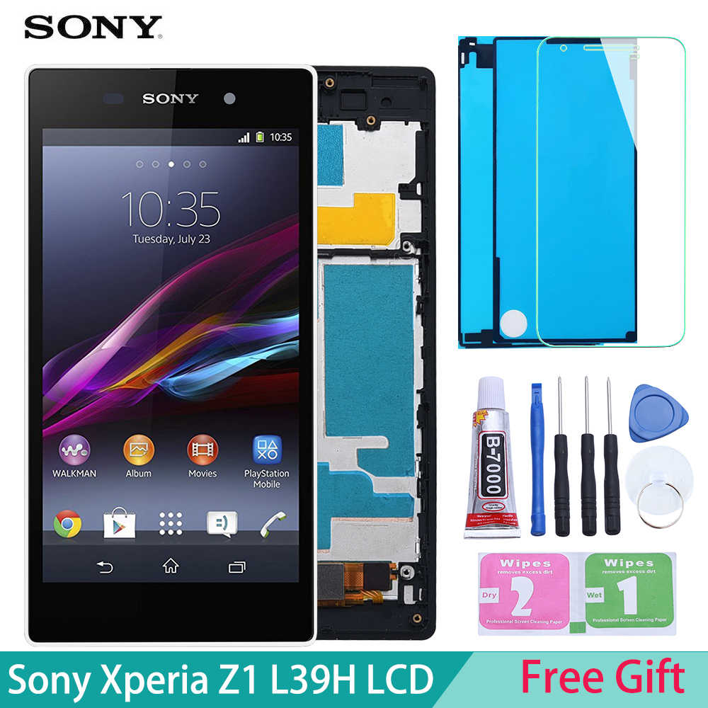"5.0"" for SONY Z1 Display L39h C6902 C6903 C6906 C6943 LCD For SONY Xperia Z1 LCD Display Touch Screen Digitizer"