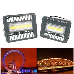 Image 5 - גבוהה בהיר LED הארה 100W 70W 50W 30W הארה IP66 איטום AC220V LED רפלקטור LED חיצוני תאורת גן מנורה