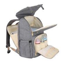 Sunveno bebek bezi çantası yüksek kapasiteli seyahat sırt çantası bebek bakımı sırt çantası analık arabası Nappy çanta Bolsa Maternidade Mochila