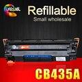 Cartucho de toner cb435a 35a 435 435a compatível recarregáveis para hp laserjet p1002 1003 1004 1005 1006 1009 buy-direto-da-china