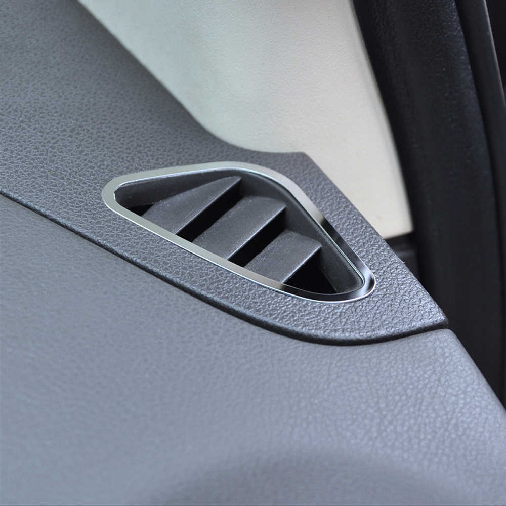 Auto Air Conditioning Vent Trim Sticker Accessories For Ford Focus 2 MK2 2005 2006 2008 2009 2010 2012 2013