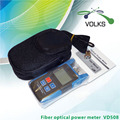 MINI Portable Fiber optical power meter VD508 -70~+10dBm/-50~+26dBm