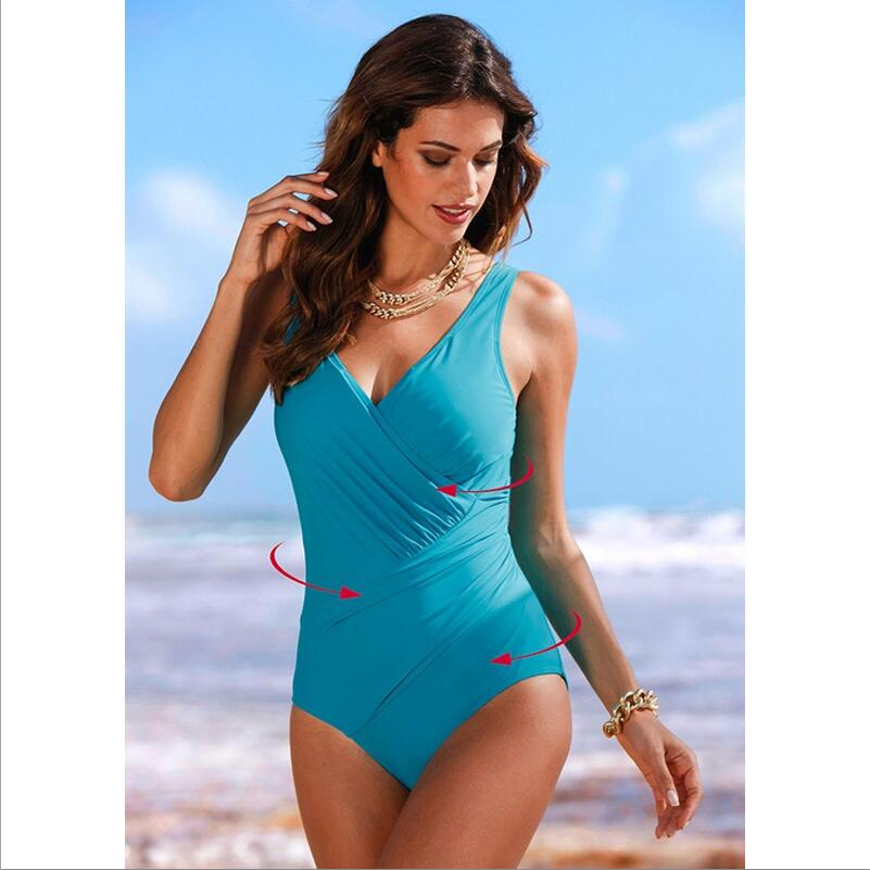 New Style Fashion Swimwear Maternity Solid Color One Piece Swimsuit For Pregnant Women Big Size 4 Colors optional
