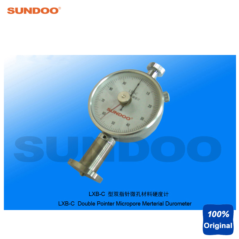 Sundoo LXB-C Portable Double Analog Pointer Micropore Material Foam Sponge Rubber Durometer