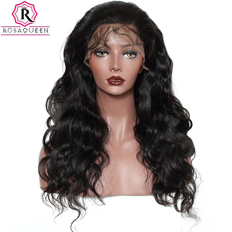 Brazilian Body Wave Full Lace Wigs Human Hair With Baby Hair For Women 130% Density Pre Plucked Natural Black Remy Hair Dolago