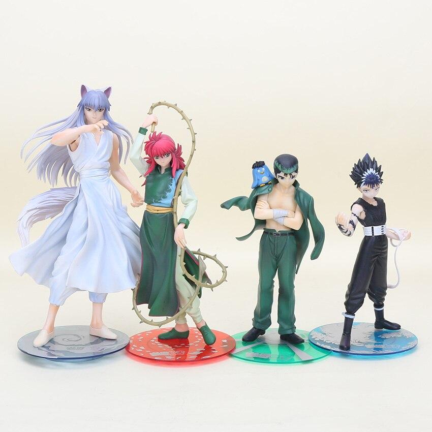 Yu Yu Hakusho Yusuke Pop Vinyl Figure: 17 25CM Anime YuYu Hakusho Hiei Figure Yusuke Urameshi
