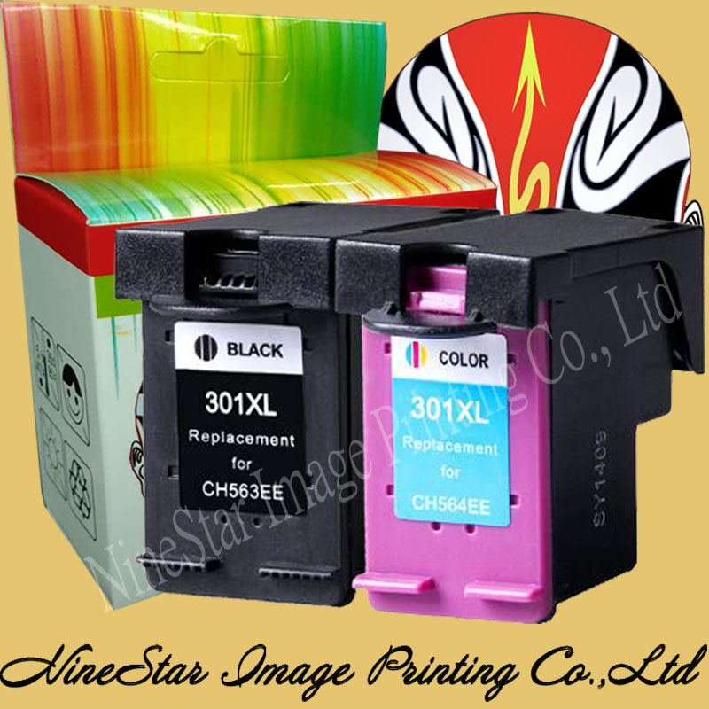 black color 301 301xl ink cartridge for hp 301 301xl ink deskjet 1000 1050 2050 3000 3050. Black Bedroom Furniture Sets. Home Design Ideas