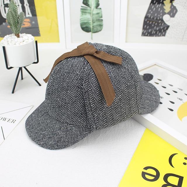 7c093a9a Detective Cosplay Sherlock Holmes Hat Unisex Winter Wool Berets For Men  Deerstalker Tweed Cap Accessories British