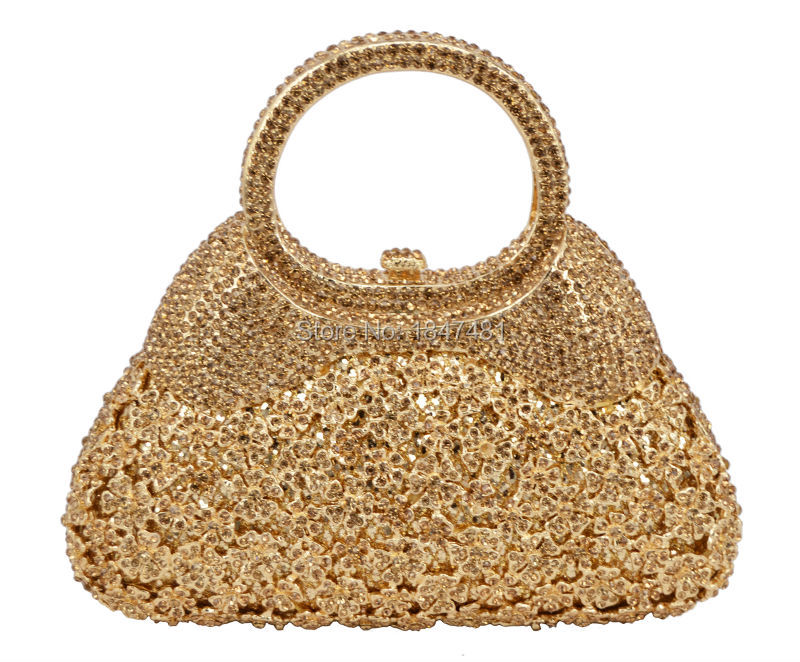 95dbb1233a LaiSC new women evening bags chain luxury crystal clutch bags handle ...