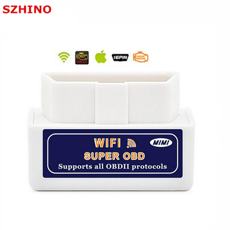 top super mini wifi elm327 elm 327 wifi v 1 5 obd 2 ii car. Black Bedroom Furniture Sets. Home Design Ideas