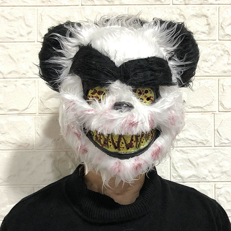 Scary Animal Halloween Horror Plush Masks  5