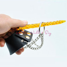 Adjustable Scrotum Pendant Leather Ball Stretcher Penis Cock Rings Fetish Sex Toys Male Chastity Device For Men Slave Restraint