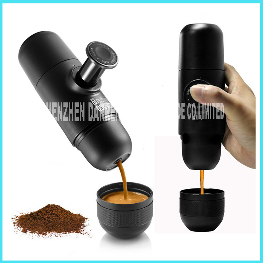 Minipresso GR Manual coffee machine hand pressure portable espresso machine pump pressure espresso 70ML plastic Shell material