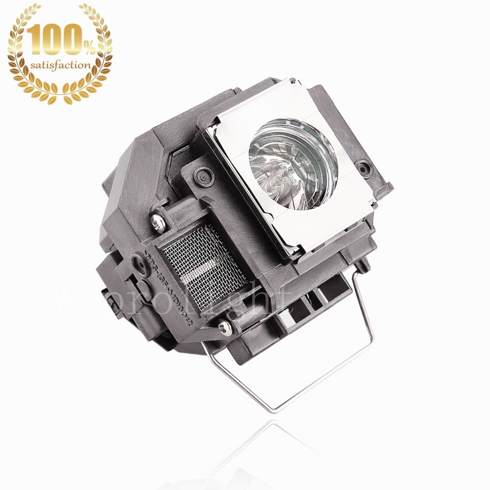 WoProlight Kompatibel lampe med kabinet ELPLP54 / V13H010L54 Til - Hjem lyd og video - Foto 2