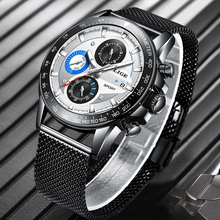reloj hombre 2020 LIGE Top Brand Luxury Mens Watches Waterproof Ultra Thin Date Wrist Watch Male Chronograph Casual Quartz Clock