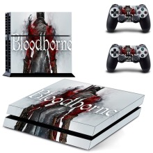 Game Bloodborne PS4 Skin Sticker Decal Vinyl for Sony Playstation 4 Console and Controller PS4 Skin Sticker цена