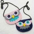 JC KIDS 10pcs/lot Fashion Girls OWL Coin Purse INS Hottest Kids Animal Messenger Bag Creative Fabric Handbag For Gilrs 16*11cm