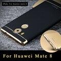"""Original de huawei mate 8 ipaky marca silm de lujo case 3 en 1 pc de la cubierta protectora dura para huawei mate 8 casos de la cubierta 6.0"""""""