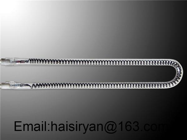 customized 500w 350mm far Single tube Electric halogen IR quartz glass heater bulbscustomized 500w 350mm far Single tube Electric halogen IR quartz glass heater bulbs