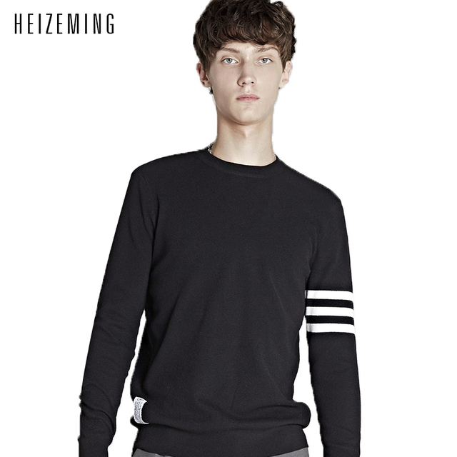 Sudaderas New Round Neck Sweaters Male Han Edition Cultivate One's Morality Men Sweater Students Render Unlined Upper Garment