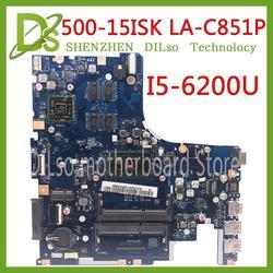 KEFU 500-15 LA-C851P płyty głównej płyta główna dla Lenovo IdeaPad 500-15ISK laptopa płyty głównej płyta główna w I5-6200U procesora R7 GPU oryginalne 100% testowane