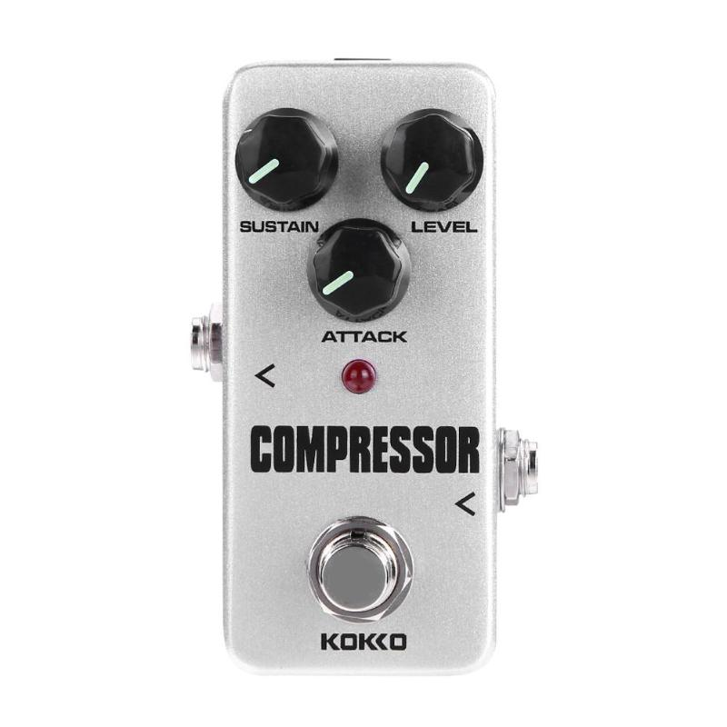 Image 5 - KOKKO Guitar Pedal Effect Compressor Booster Distortion Overdrive Electric Bass Guitar Effects True Bypass Musical Instruments-in Guitar Parts & Accessories from Sports & Entertainment