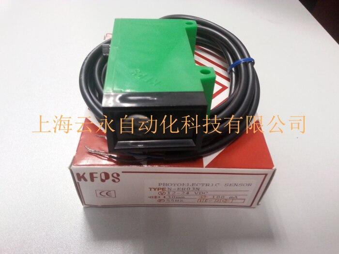 new original N-ER03N   Taiwan  kai fang KFPS photoelectric sensor new original taiwan s yangming fotek new original photoelectric switch reflector mg 2mx mr 1 sensor