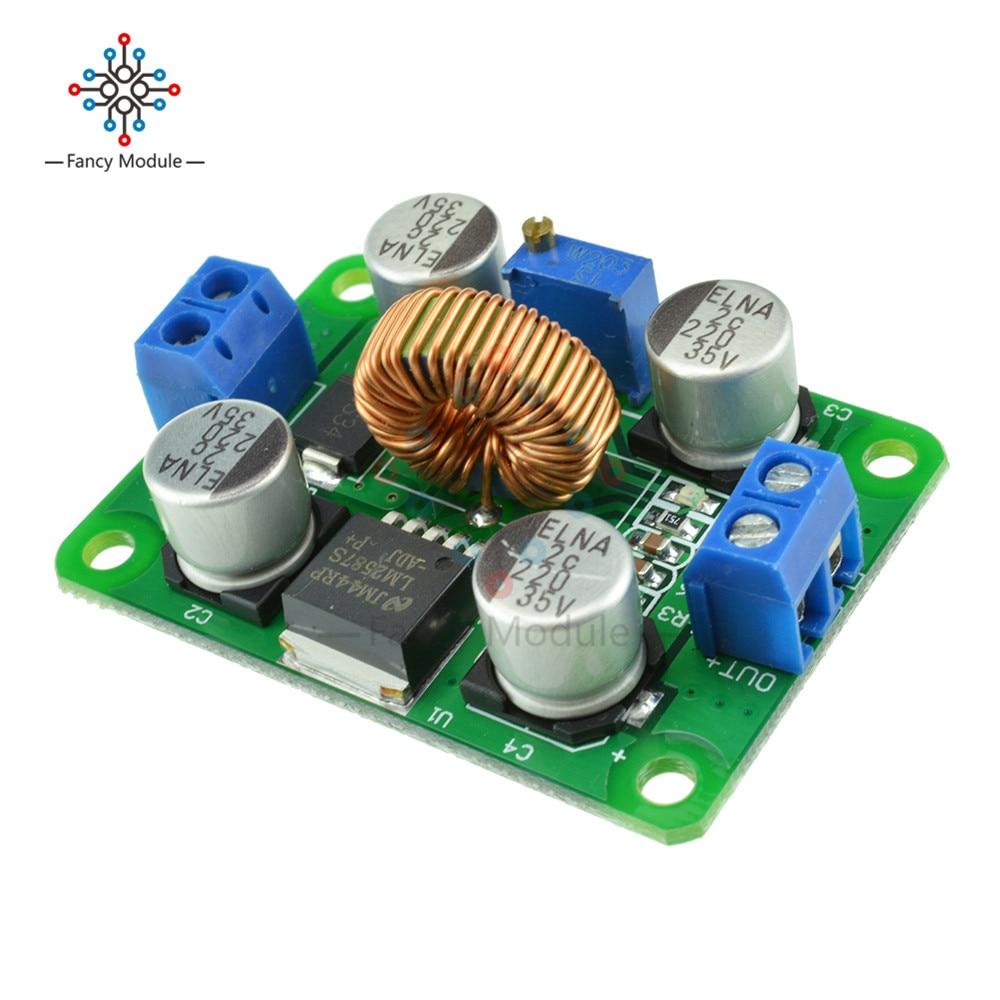 4A DC Adjustable Voltage Regulator Boost Step Up Down Converter AT30 Kit Tools